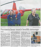 Article: farmers hear mens health message