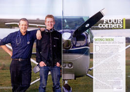 Wing Men - March 2012 North & South magazine